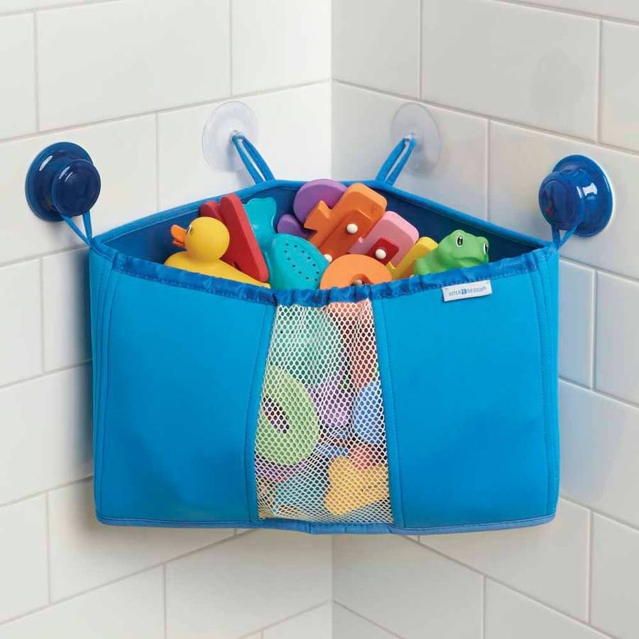 how to store bath toys